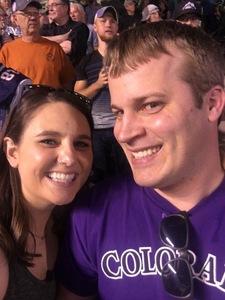 Drew attended Colorado Rockies vs. Arizona Diamondbacks - MLB on Jun 8th 2018 via VetTix