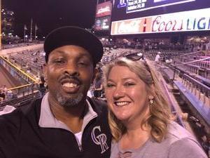Carlton attended Colorado Rockies vs. Arizona Diamondbacks - MLB on Jun 8th 2018 via VetTix