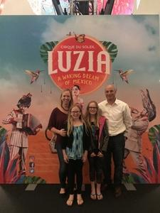 Tim attended Luzia by Cirque Du Soleil - 8pm Show on Jun 2nd 2018 via VetTix