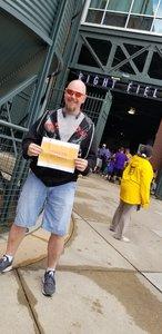 Timothy attended Colorado Rockies vs. Miami Marlins - MLB - Sunday on Jun 24th 2018 via VetTix
