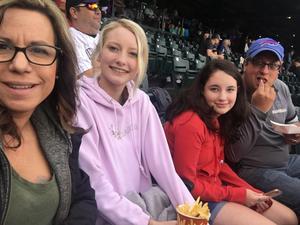 Rae attended Colorado Rockies vs. Miami Marlins - MLB - Sunday on Jun 24th 2018 via VetTix