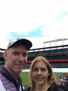 Michael attended Colorado Rockies vs. Miami Marlins - MLB - Sunday on Jun 24th 2018 via VetTix