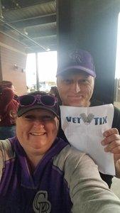 Robert attended Colorado Rockies vs. Miami Marlins - MLB - Sunday on Jun 24th 2018 via VetTix