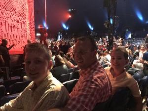 Jeanna attended Luzia by Cirque Du Soleil - Matinee on Jun 3rd 2018 via VetTix