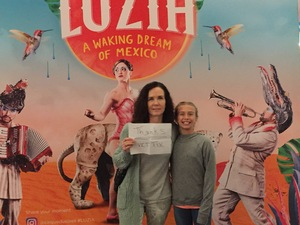 Mark attended Luzia by Cirque Du Soleil - 5pm Show on Jun 3rd 2018 via VetTix