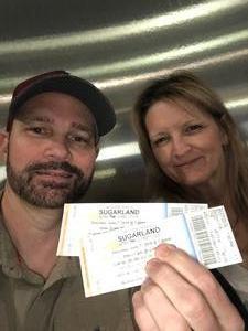 Steven and Jodi G attended Sugarland - Still the Same Tour on Jun 7th 2018 via VetTix
