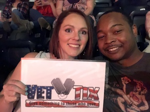 Melanie attended Sugarland - Still the Same Tour on Jun 7th 2018 via VetTix