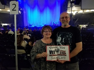 Paul attended Sugarland - Still the Same Tour on Jun 7th 2018 via VetTix