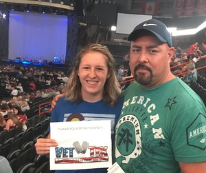 Ken R. attended Sugarland: Still the Same Tour With Brandy Clark and Clare Bowen on Jun 8th 2018 via VetTix