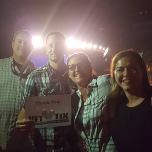 Chris attended Sugarland: Still the Same Tour With Brandy Clark and Clare Bowen on Jun 8th 2018 via VetTix