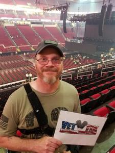 Robert attended Live Nation Presents Journey / Def Leppard - Pop on Jun 5th 2018 via VetTix