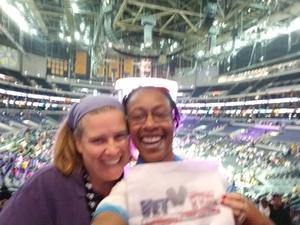 Tracey attended Los Angeles Sparks vs. Minnesota Lynx - WNBA on Jun 3rd 2018 via VetTix