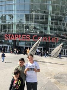Eder attended Los Angeles Sparks vs. Minnesota Lynx - WNBA on Jun 3rd 2018 via VetTix