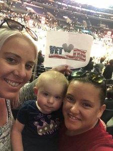 James attended Los Angeles Sparks vs. Minnesota Lynx - WNBA on Jun 3rd 2018 via VetTix