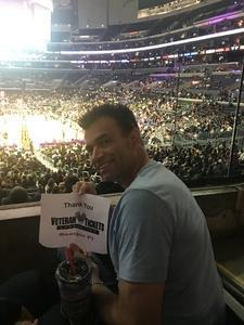 Todd attended Los Angeles Sparks vs. Minnesota Lynx - WNBA on Jun 3rd 2018 via VetTix