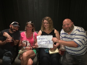 Tearah attended David Blaine Live on Jun 3rd 2018 via VetTix