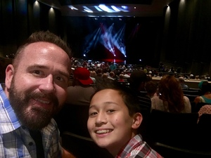 Ron attended David Blaine Live on Jun 3rd 2018 via VetTix