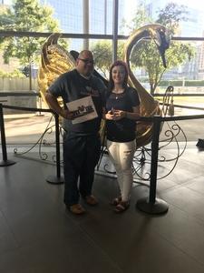 Ernest attended Swan Lake Presented by Texas Ballet on Jun 3rd 2018 via VetTix