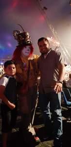 Ivan attended Circus Vargas - Evening Performance on Jun 8th 2018 via VetTix