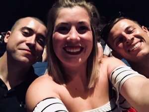 Vincent attended The Adventures of Kesha and Macklemore on Jun 6th 2018 via VetTix