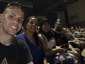 Richard attended Rascal Flatts Back to US Tour on Jun 8th 2018 via VetTix