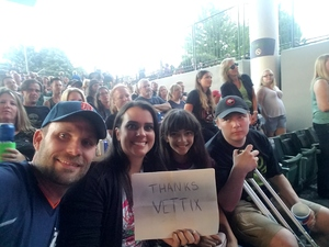 Michael attended Poison With Special Guests Cheap Trick and Pop Evil - Pop on Jun 8th 2018 via VetTix