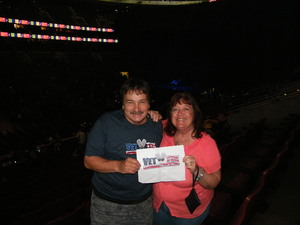 Carl attended Def Leppard/journey on Jun 11th 2018 via VetTix