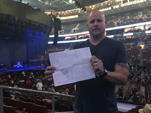 Sheldon attended Def Leppard/journey on Jun 11th 2018 via VetTix