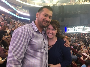 Pablo attended Def Leppard/journey on Jun 11th 2018 via VetTix