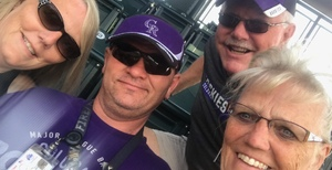 Willie attended Colorado Rockies vs. San Francisco Giants - MLB on Jul 2nd 2018 via VetTix