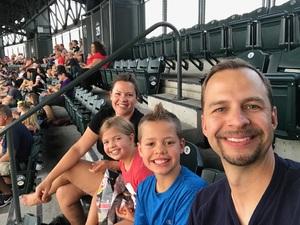 Michelle attended Colorado Rockies vs. San Francisco Giants - MLB on Jul 2nd 2018 via VetTix