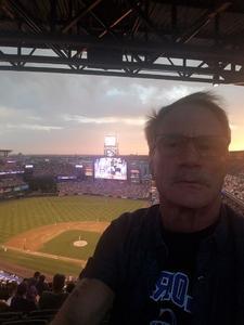 Roy attended Colorado Rockies vs. San Francisco Giants - MLB on Jul 2nd 2018 via VetTix