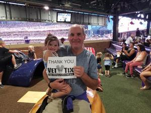 Norb attended Colorado Rockies vs. San Francisco Giants - MLB on Jul 2nd 2018 via VetTix
