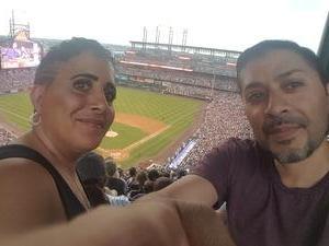 Tomas attended Colorado Rockies vs. San Francisco Giants - MLB on Jul 2nd 2018 via VetTix