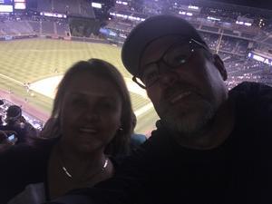Gracee attended Colorado Rockies vs. San Francisco Giants - MLB on Jul 2nd 2018 via VetTix