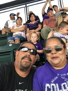 Ernest attended Colorado Rockies vs. San Francisco Giants - MLB on Jul 2nd 2018 via VetTix