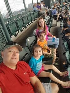 Joseph attended Colorado Rockies vs. San Francisco Giants - MLB on Jul 2nd 2018 via VetTix