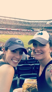 Amber attended Colorado Rockies vs. San Francisco Giants - MLB on Jul 2nd 2018 via VetTix