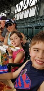 James attended Colorado Rockies vs. San Francisco Giants - MLB on Jul 2nd 2018 via VetTix