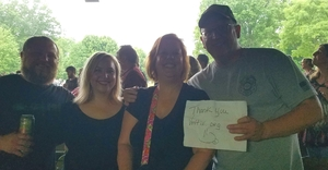 Gerry attended Poison With Special Guests Cheap Trick and Pop Evil on Jun 12th 2018 via VetTix