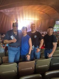 David attended Poison With Special Guests Cheap Trick and Pop Evil on Jun 12th 2018 via VetTix