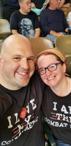 Teddi attended Poison With Special Guests Cheap Trick and Pop Evil on Jun 12th 2018 via VetTix
