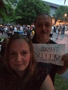Traci attended Poison With Special Guests Cheap Trick and Pop Evil on Jun 12th 2018 via VetTix