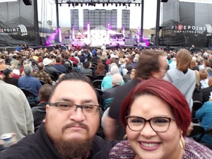 JUAN attended Chicago and Reo Speedwagon Live on Jun 16th 2018 via VetTix