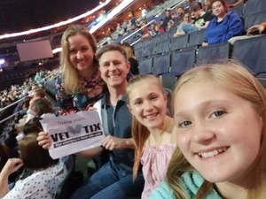 Russell attended Daryl Hall & John Oates and Train on Jun 11th 2018 via VetTix
