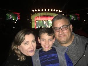 Manuel attended Daryl Hall & John Oates and Train on Jun 11th 2018 via VetTix