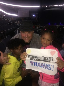 JAMES attended Daryl Hall & John Oates and Train on Jun 11th 2018 via VetTix