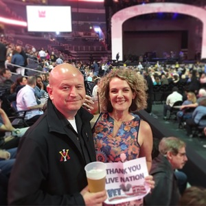Charles attended Daryl Hall & John Oates and Train on Jun 11th 2018 via VetTix