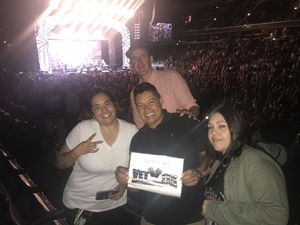 Reese attended Daryl Hall & John Oates and Train on Jun 11th 2018 via VetTix