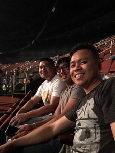 Sroyadin attended Kesha and Macklemore 6/8 on Jun 8th 2018 via VetTix